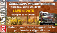 PD Tukee Talks Ahwatukee Community Meeting